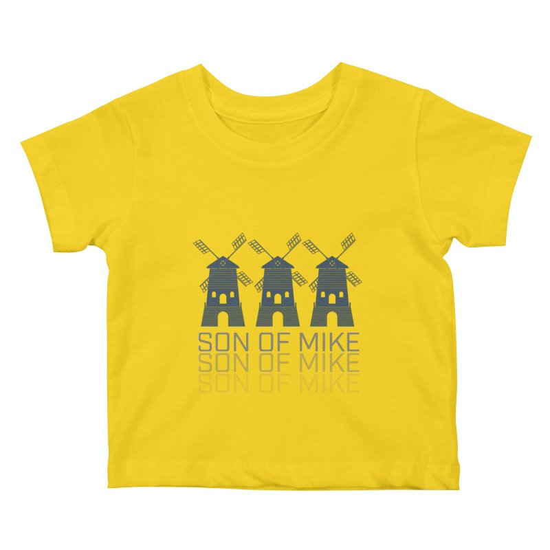 "Son of Mike ""Windmill III"" Kids Baby T-Shirt by Turkeylegsray's Artist Shop"