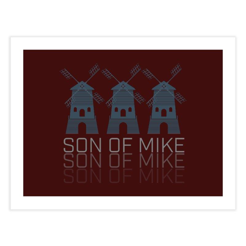 "Son of Mike ""Windmill III"" Home Fine Art Print by Turkeylegsray's Artist Shop"