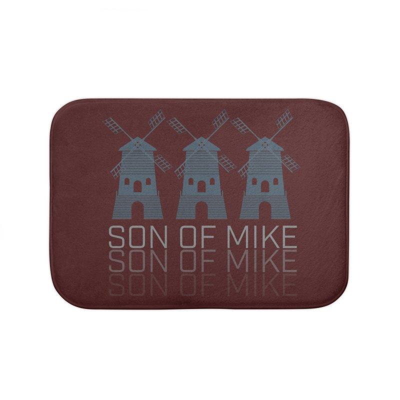"Son of Mike ""Windmill III"" Home Bath Mat by Turkeylegsray's Artist Shop"