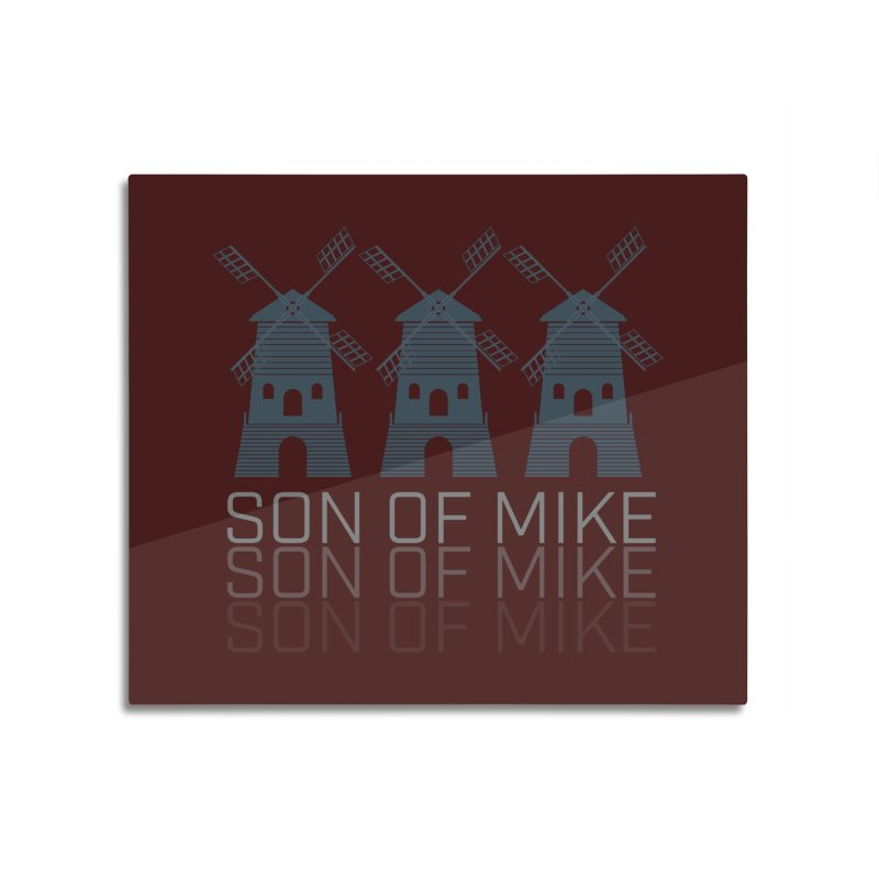 """Son of Mike """"Windmill III"""" Home Mounted Aluminum Print by Turkeylegsray's Artist Shop"""
