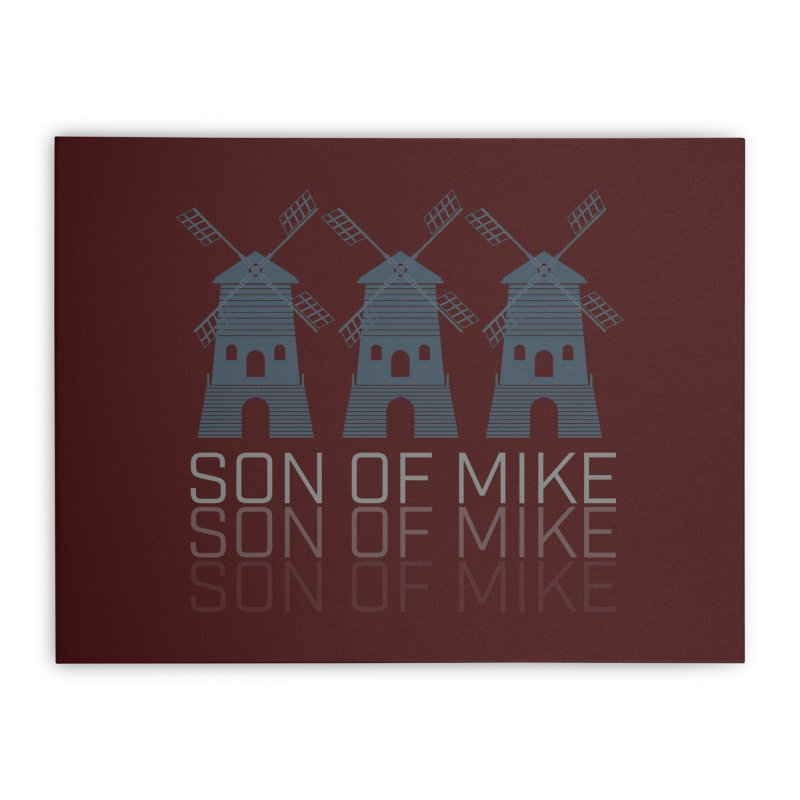 "Son of Mike ""Windmill III"" Home Stretched Canvas by Turkeylegsray's Artist Shop"