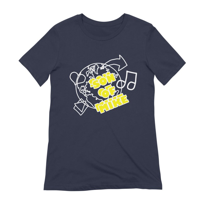 """Son of Mike """"World"""" Women's Extra Soft T-Shirt by Turkeylegsray's Artist Shop"""