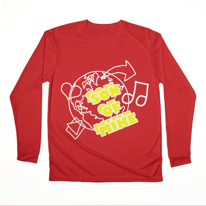 "Son of Mike ""World"" Women's Performance Unisex Longsleeve T-Shirt by Turkeylegsray's Artist Shop"