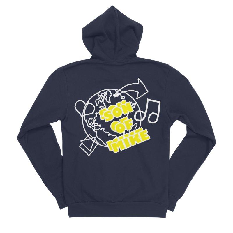 "Son of Mike ""World"" Men's Sponge Fleece Zip-Up Hoody by Turkeylegsray's Artist Shop"