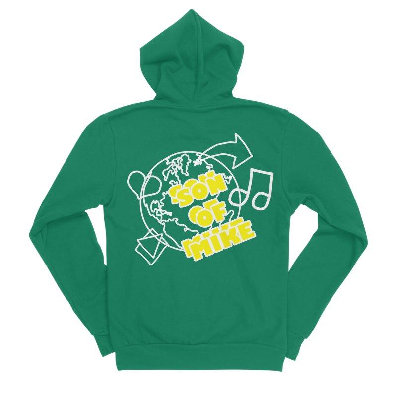 """Son of Mike """"World"""" Women's Sponge Fleece Zip-Up Hoody by Turkeylegsray's Artist Shop"""