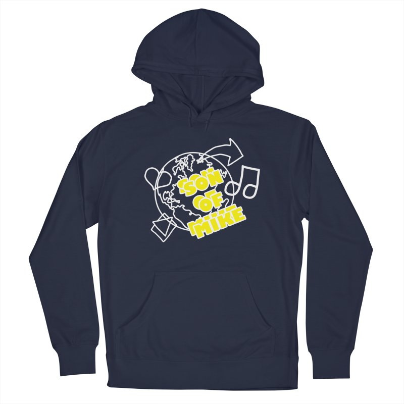 """Son of Mike """"World"""" Men's French Terry Pullover Hoody by Turkeylegsray's Artist Shop"""