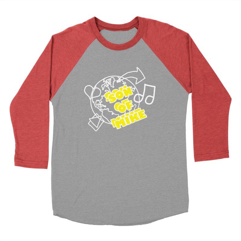 "Son of Mike ""World"" Men's Baseball Triblend Longsleeve T-Shirt by Turkeylegsray's Artist Shop"