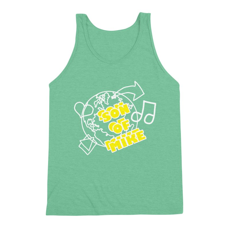 "Son of Mike ""World"" Men's Triblend Tank by Turkeylegsray's Artist Shop"