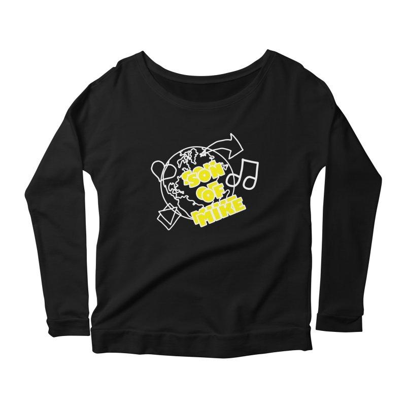 """Son of Mike """"World"""" Women's Scoop Neck Longsleeve T-Shirt by Turkeylegsray's Artist Shop"""