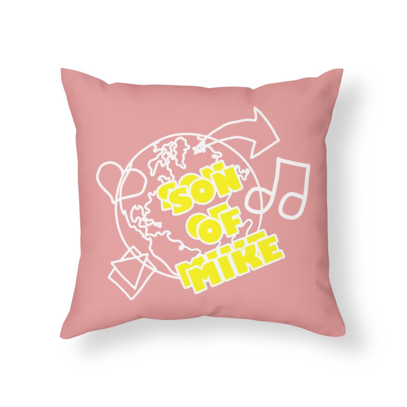 "Son of Mike ""World"" Home Throw Pillow by Turkeylegsray's Artist Shop"