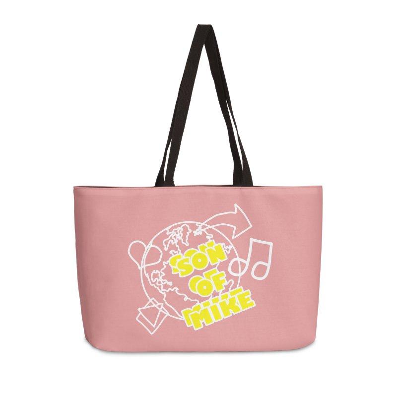 "Son of Mike ""World"" Accessories Weekender Bag Bag by Turkeylegsray's Artist Shop"