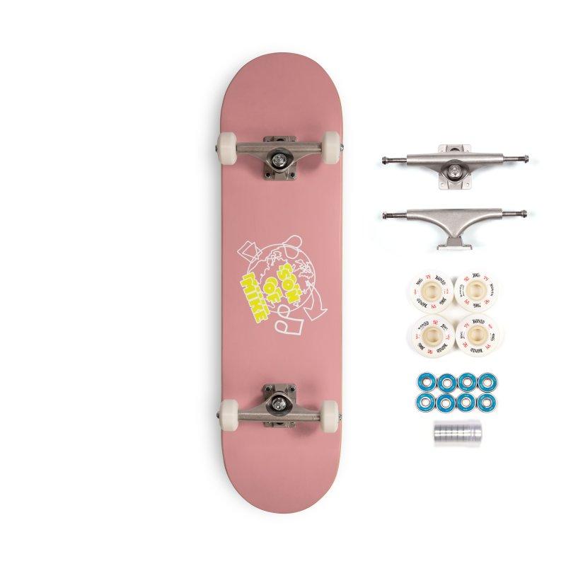 "Son of Mike ""World"" Accessories Complete - Premium Skateboard by Turkeylegsray's Artist Shop"