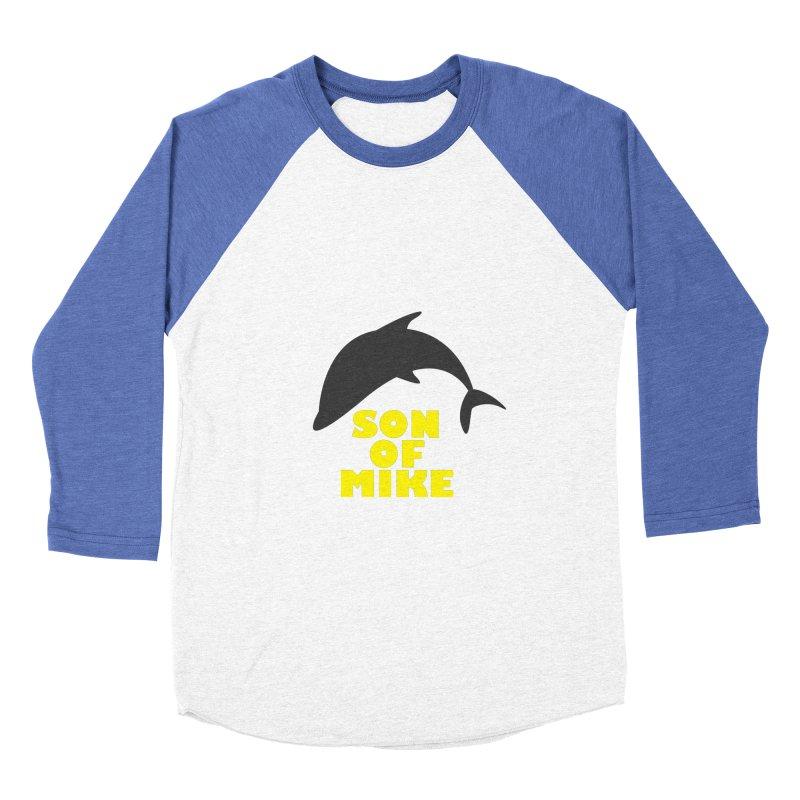 "Son of Mike ""Dolphin"" Men's Baseball Triblend Longsleeve T-Shirt by Turkeylegsray's Artist Shop"