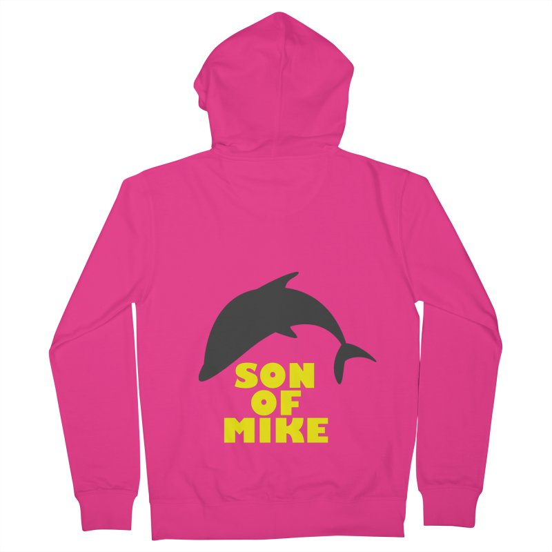 "Son of Mike ""Dolphin"" Men's French Terry Zip-Up Hoody by Turkeylegsray's Artist Shop"