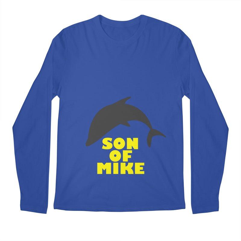 "Son of Mike ""Dolphin"" Men's Regular Longsleeve T-Shirt by Turkeylegsray's Artist Shop"