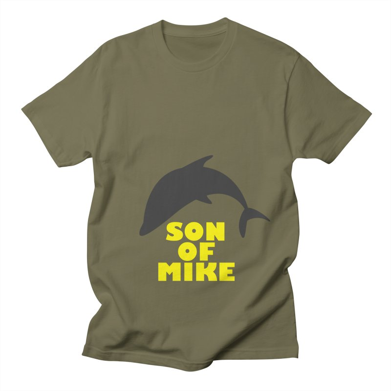 "Son of Mike ""Dolphin"" Men's Regular T-Shirt by Turkeylegsray's Artist Shop"