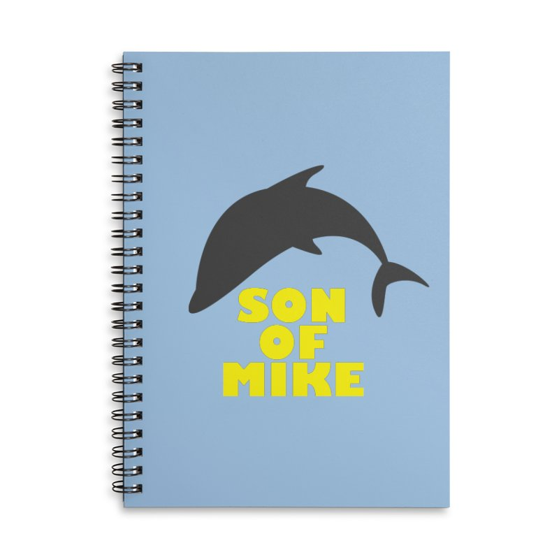 """Son of Mike """"Dolphin"""" Accessories Lined Spiral Notebook by Turkeylegsray's Artist Shop"""