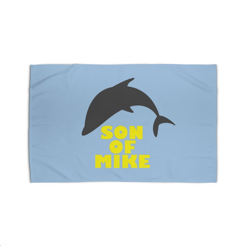 "Son of Mike ""Dolphin"" Home Rug by Turkeylegsray's Artist Shop"