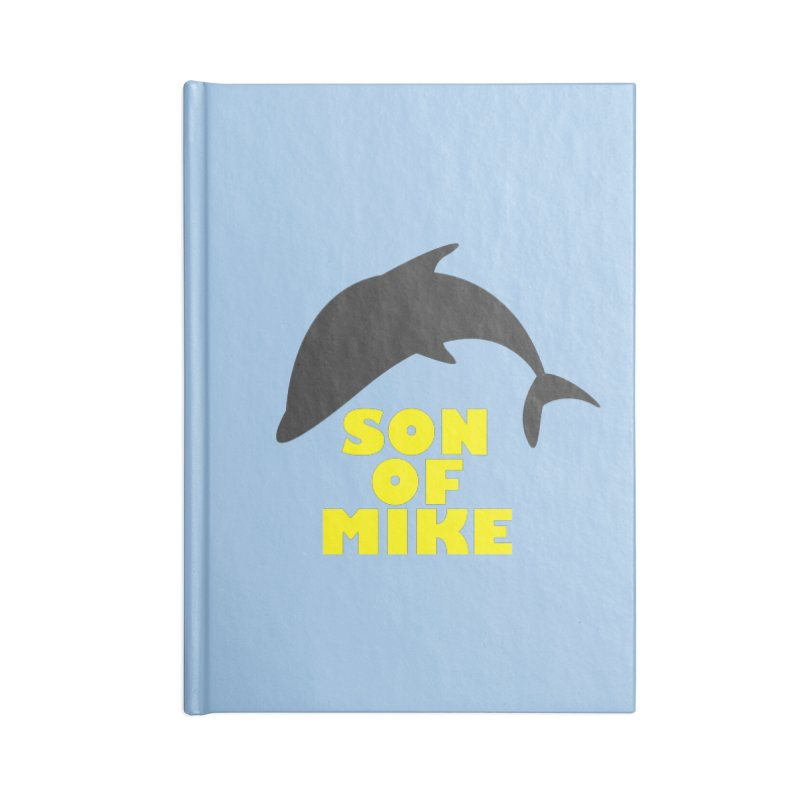 """Son of Mike """"Dolphin"""" Accessories Blank Journal Notebook by Turkeylegsray's Artist Shop"""