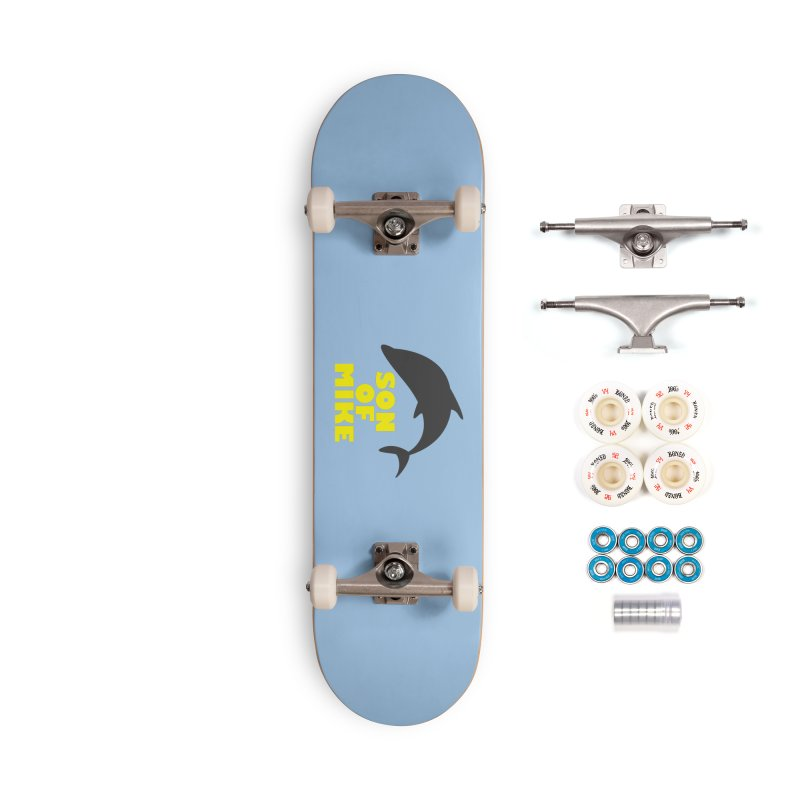 """Son of Mike """"Dolphin"""" Accessories Complete - Premium Skateboard by Turkeylegsray's Artist Shop"""