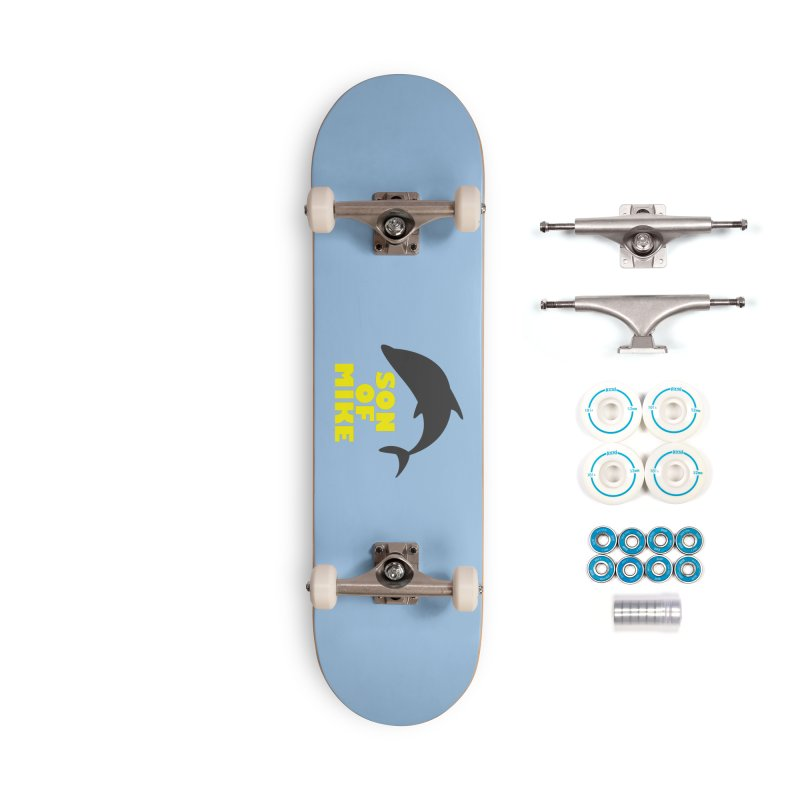 """Son of Mike """"Dolphin"""" Accessories Complete - Basic Skateboard by Turkeylegsray's Artist Shop"""