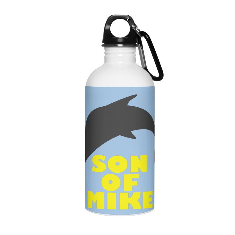 "Son of Mike ""Dolphin"" Accessories Water Bottle by Turkeylegsray's Artist Shop"