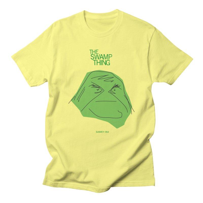 THE SWAMP THING Men's T-Shirt by Turkeylegsray's Artist Shop