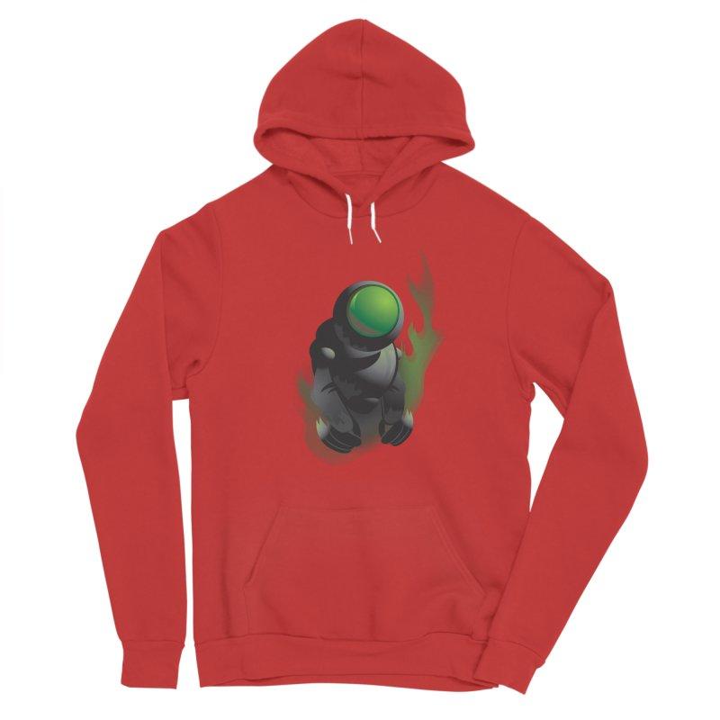 Green Robot Men's Pullover Hoody by Turkeylegsray's Artist Shop