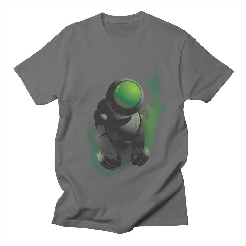 Green Robot Men's T-Shirt by Turkeylegsray's Artist Shop