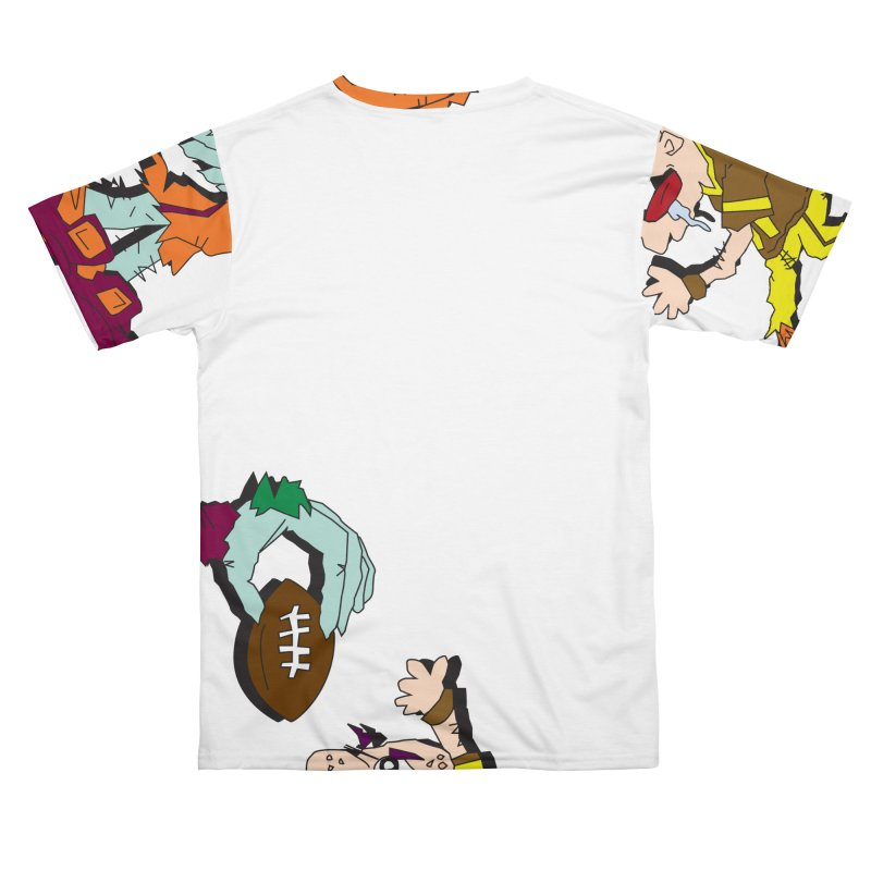 Monster Football Men's Cut & Sew by Turkeylegsray's Artist Shop
