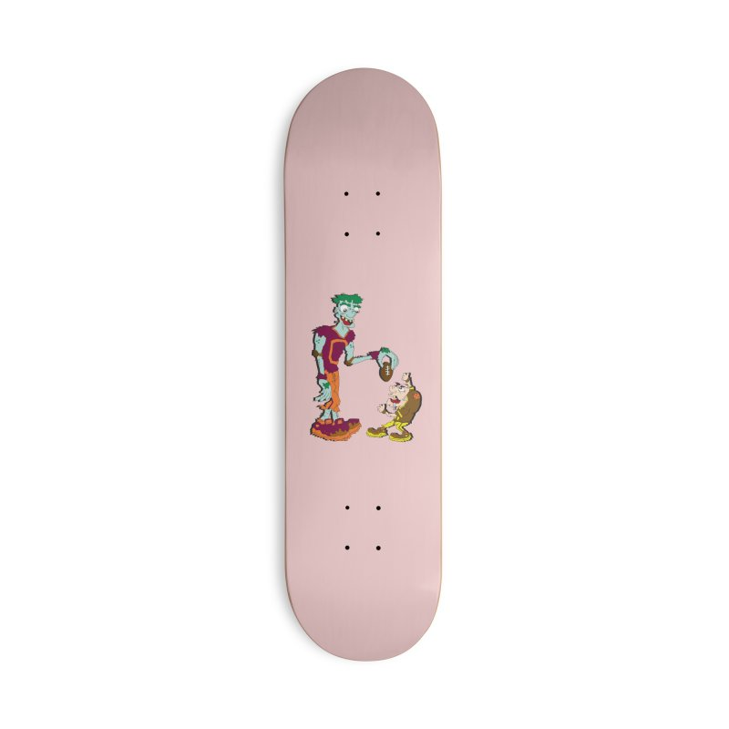 Monster Football Accessories Skateboard by Turkeylegsray's Artist Shop