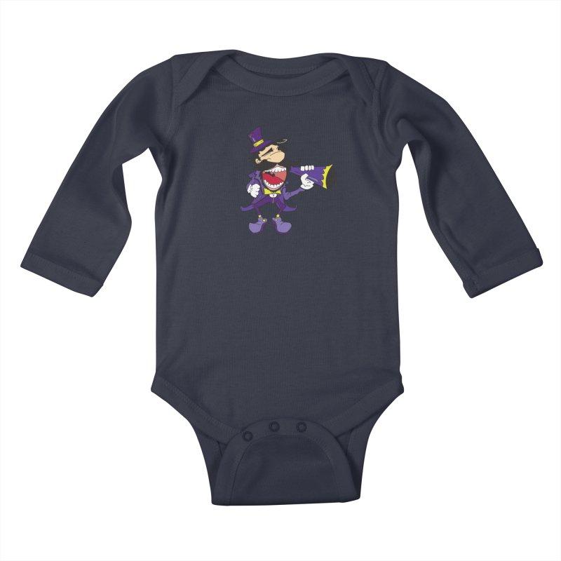 FAIR GUY Kids Baby Longsleeve Bodysuit by Turkeylegsray's Artist Shop