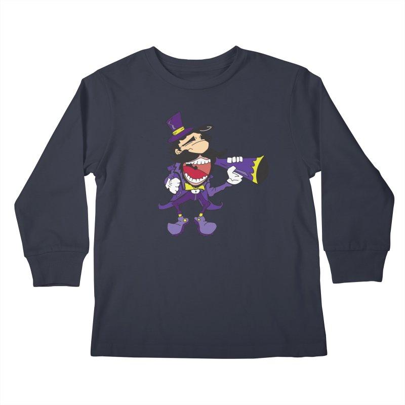 FAIR GUY Kids Longsleeve T-Shirt by Turkeylegsray's Artist Shop
