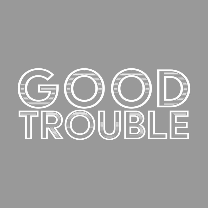 GOOD TROUBLE Kids Toddler Pullover Hoody by Turkeylegsray's Artist Shop