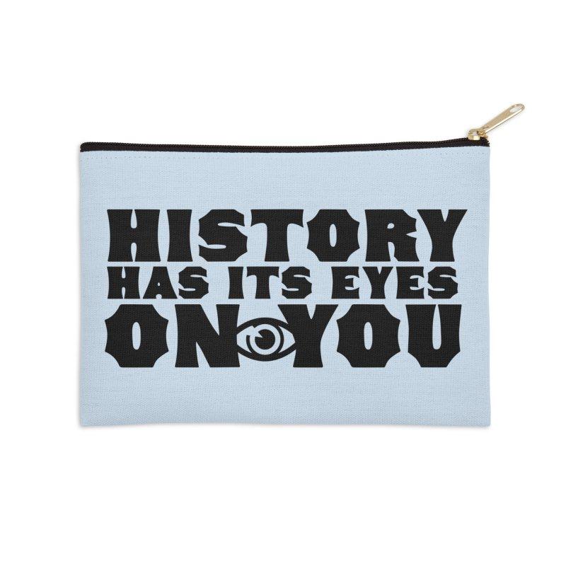 HISTORY Accessories Zip Pouch by Turkeylegsray's Artist Shop