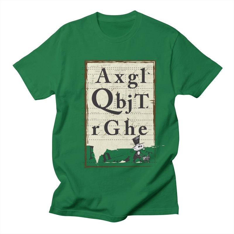 Type Men's T-Shirt by Turkeylegsray's Artist Shop