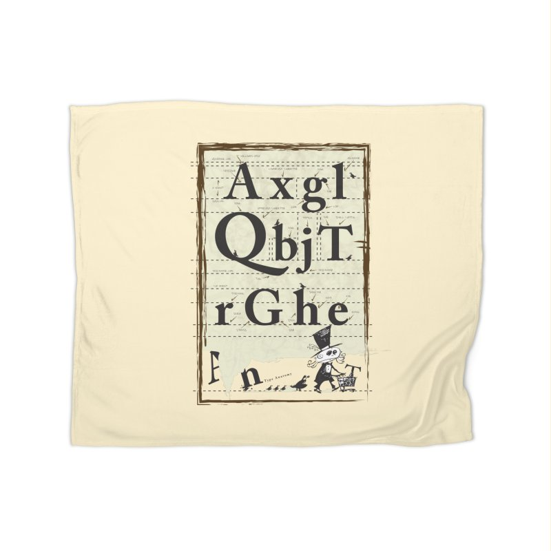 Type Home Blanket by Turkeylegsray's Artist Shop