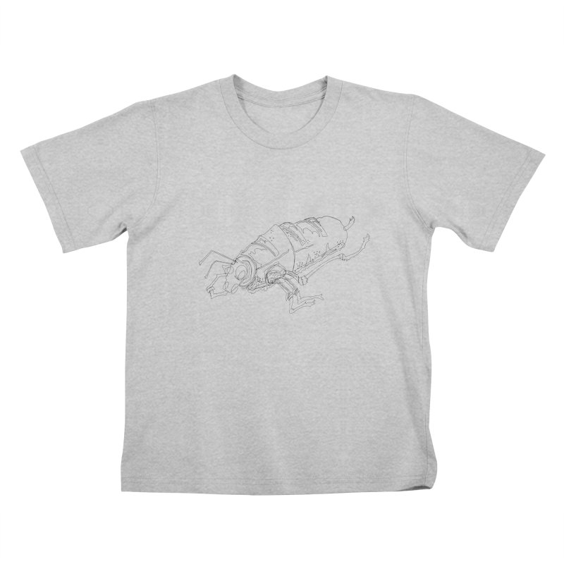 Bread Bug Kids T-Shirt by Turkeylegsray's Artist Shop