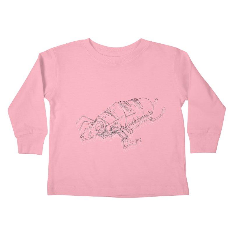 Bread Bug Kids Toddler Longsleeve T-Shirt by Turkeylegsray's Artist Shop