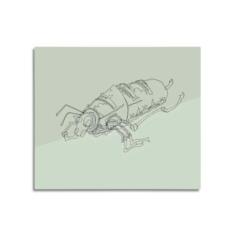 Bread Bug Home Mounted Aluminum Print by Turkeylegsray's Artist Shop