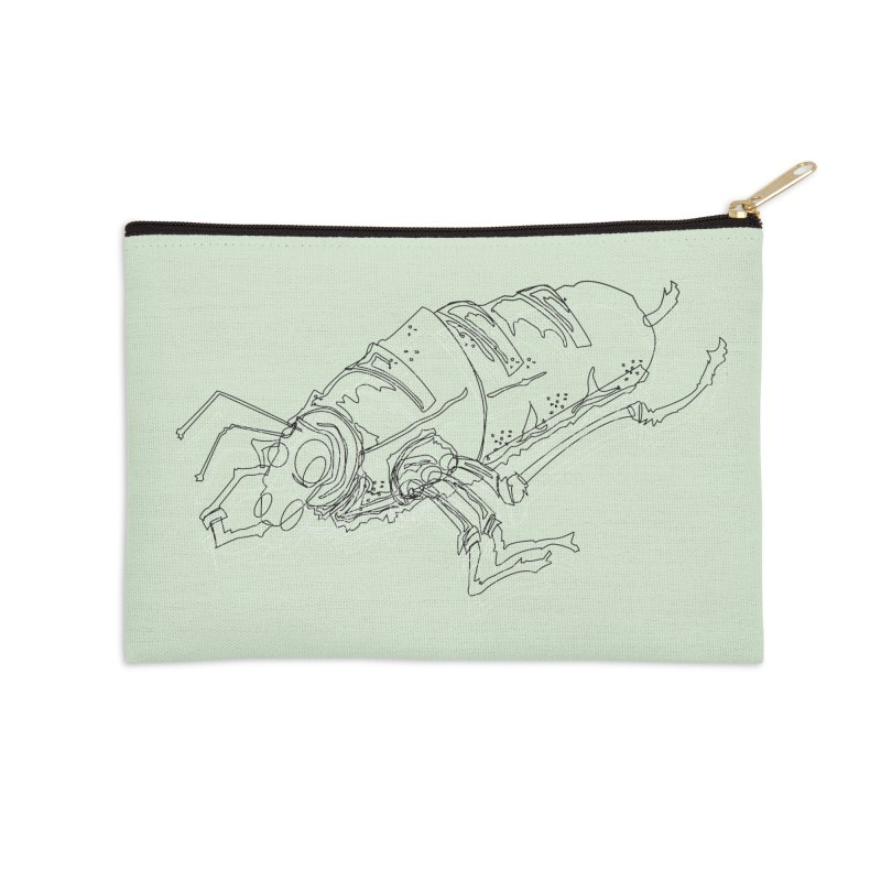 Bread Bug Accessories Zip Pouch by Turkeylegsray's Artist Shop