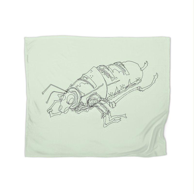 Bread Bug Home Blanket by Turkeylegsray's Artist Shop