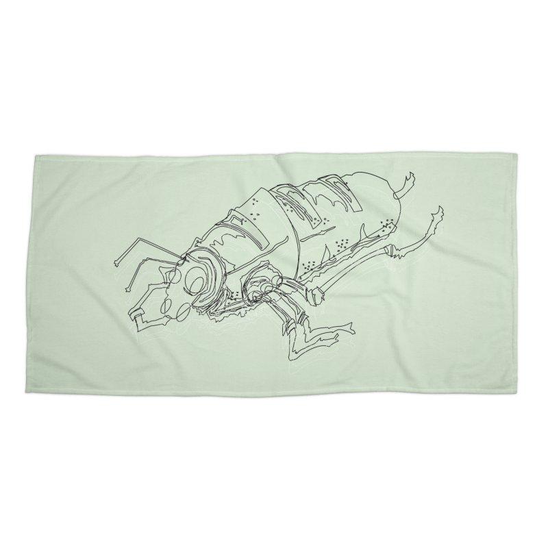 Bread Bug Accessories Beach Towel by Turkeylegsray's Artist Shop