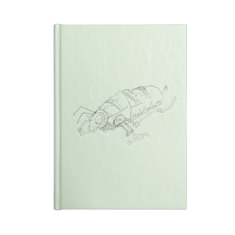 Bread Bug Accessories Notebook by Turkeylegsray's Artist Shop