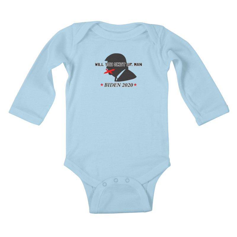 BIDEN 2020 Kids Baby Longsleeve Bodysuit by Turkeylegsray's Artist Shop