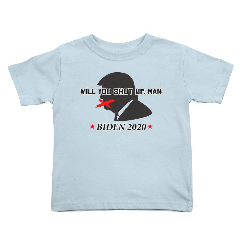 BIDEN 2020 Kids Toddler T-Shirt by Turkeylegsray's Artist Shop