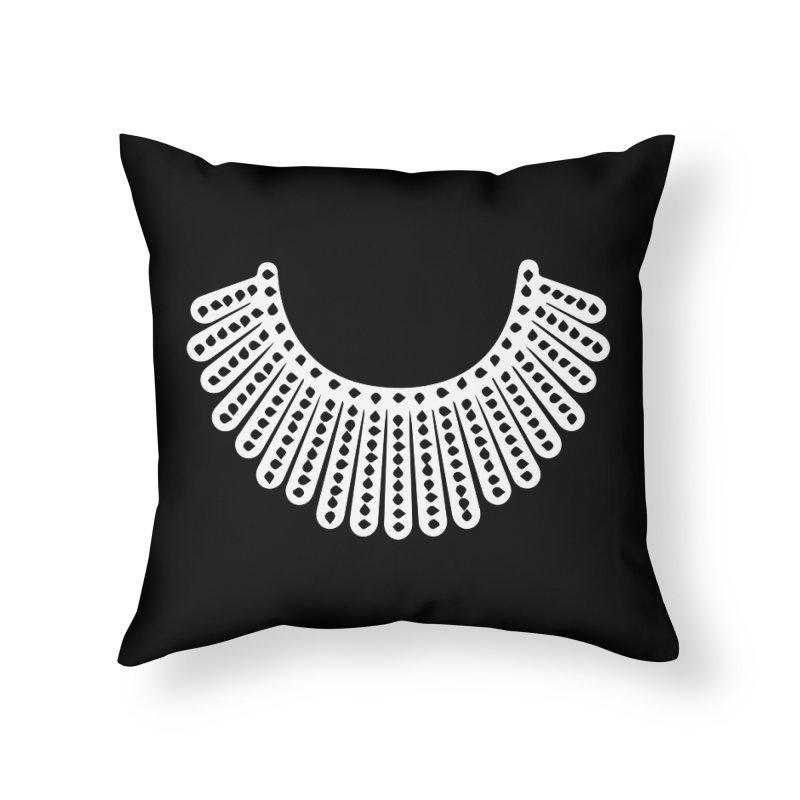 RBG Home Throw Pillow by Turkeylegsray's Artist Shop