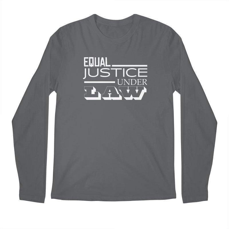 EQUAL JUSTICE Men's Longsleeve T-Shirt by Turkeylegsray's Artist Shop