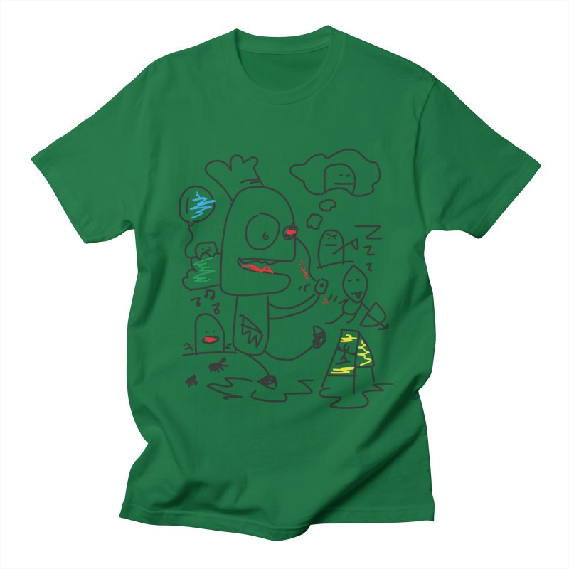CHAOS Men's T-Shirt by Turkeylegsray's Artist Shop