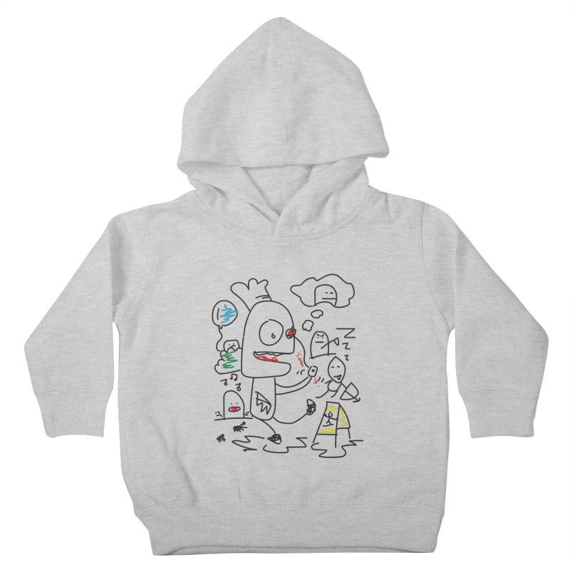 CHAOS Kids Toddler Pullover Hoody by Turkeylegsray's Artist Shop